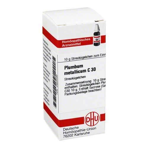 Plumbum metallicum C 30 Globuli - 1