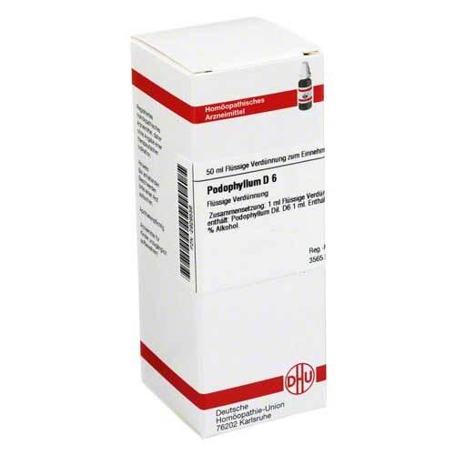 DHU Podophyllum D 6 Dilution - 1
