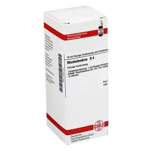 Rhododendron D 4 Dilution - 1