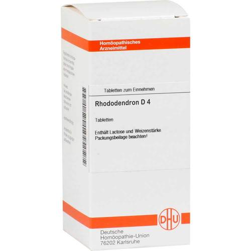 Rhododendron D 4 Tabletten - 1