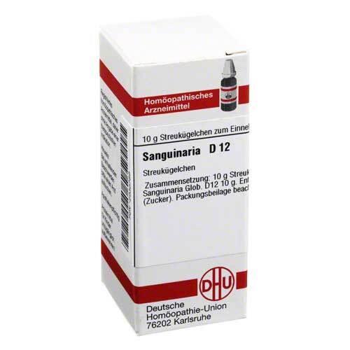 DHU Sanguinaria D 12 Globuli - 1
