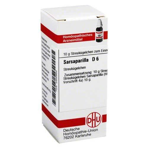 Sarsaparilla D 6 Globuli - 1