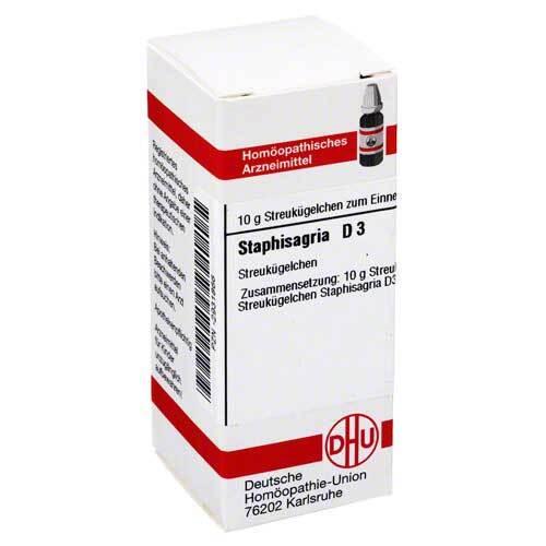 Staphisagria D 3 Globuli - 1