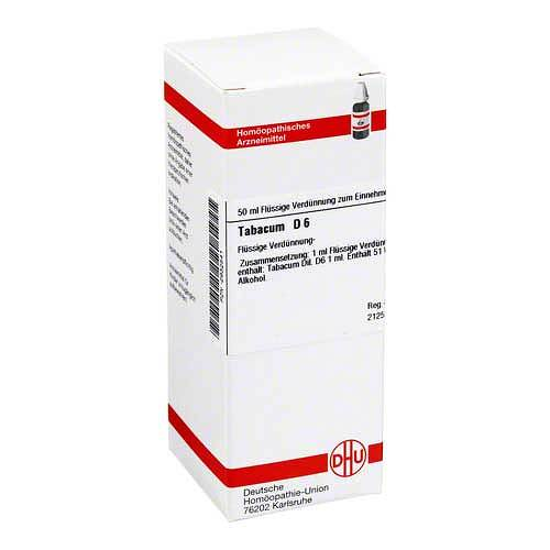 Tabacum D 6 Dilution - 1