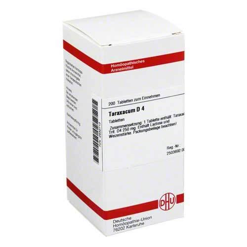 Taraxacum D 4 Tabletten - 1