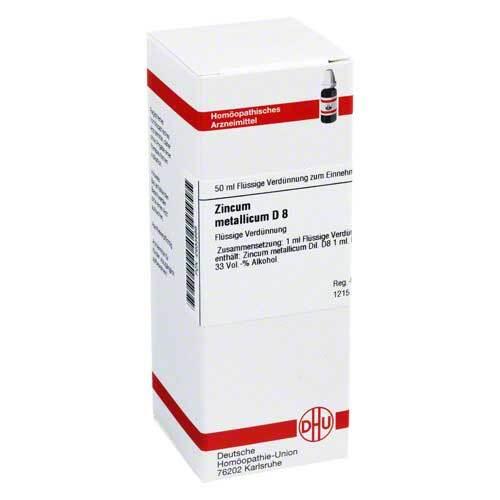 DHU Zincum metallicum D 8 Dilution - 1