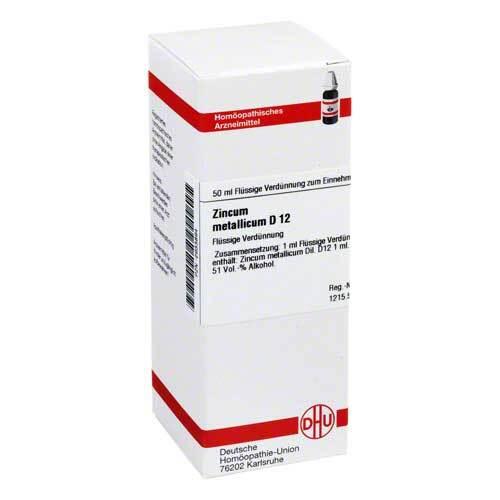 DHU Zincum metallicum D 12 Dilution - 1