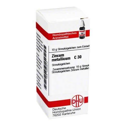 DHU Zincum metallicum C 30 Globuli - 1