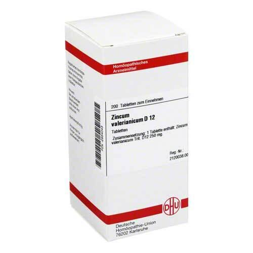 DHU Zincum valerianicum D 12 Tabletten - 1