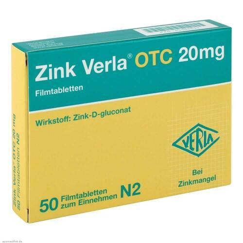 Zink Verla Otc 20 mg Filmtabletten - 1