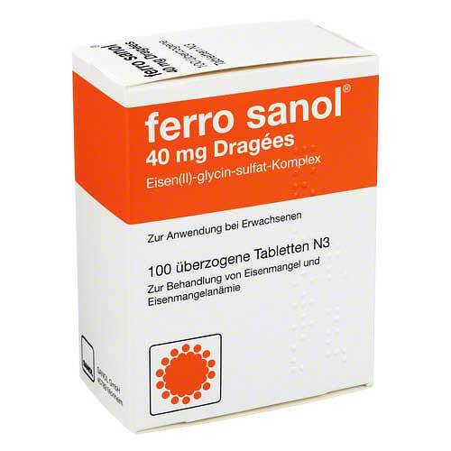 Ferro Sanol überzogene Tabletten - 1
