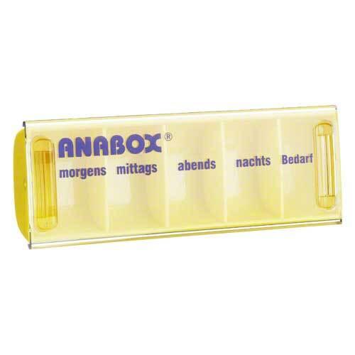 Anabox Tagesbox gelb - 1