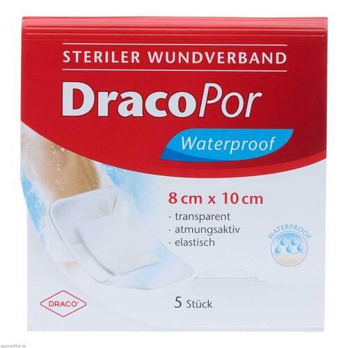 DracoPor waterproof Wundverband 8x10 cm steril - 1