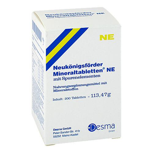 Neukönigsförder Mineraltabletten NE - 1