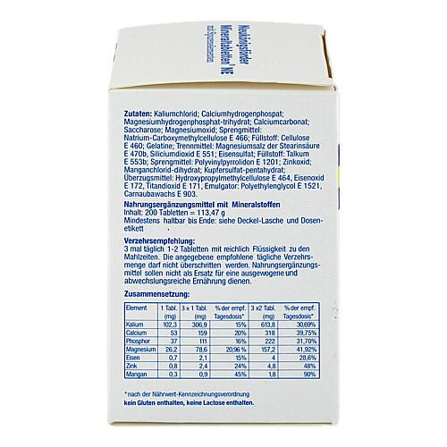 Neukönigsförder Mineraltabletten NE - 3