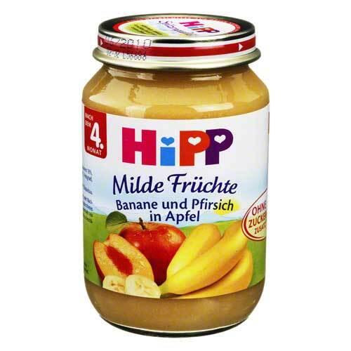 Hipp Früchte Banane / Pfirsich / Apfel - 1