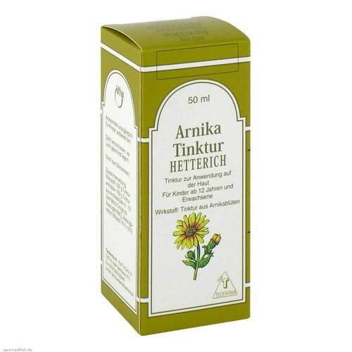 Arnika Tinktur Hetterich - 1