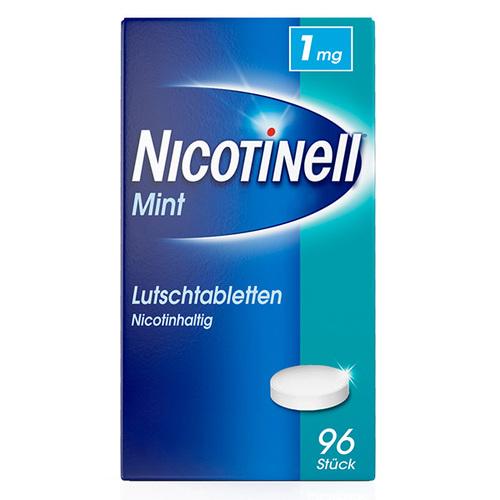 Nicotinell Lutschtabletten 1 mg Mint zuckerfrei - 1