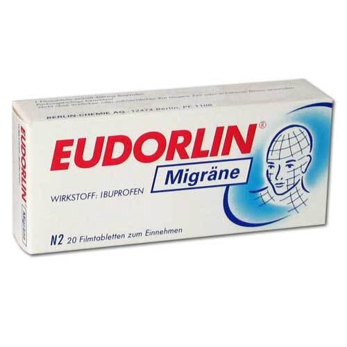 Eudorlin Migräne Filmtabletten - 1