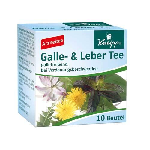 Kneipp Tee Galle und Leber Filterbeutel - 1
