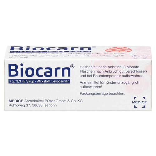 Biocarn Sirup - 2