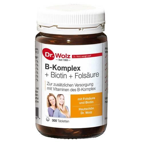 B Komplex + Biotin + Folsäure Tabletten - 1
