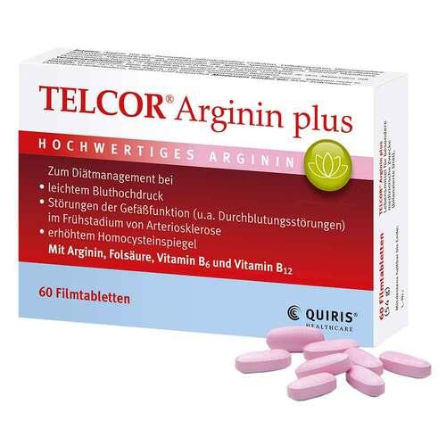Telcor Arginin plus Filmtabletten - 1