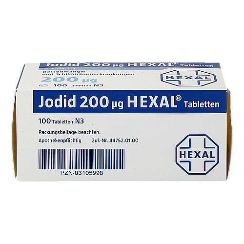 Jodid 200 Hexal Tabletten - 2