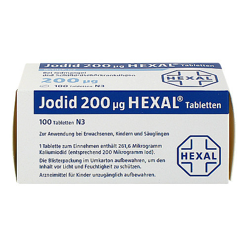 Jodid 200 Hexal Tabletten - 3