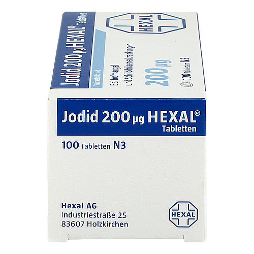 Jodid 200 Hexal Tabletten - 4