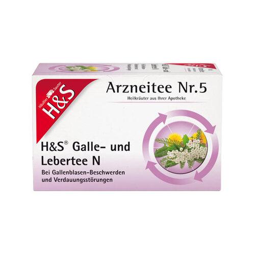 H&S Galle- und Lebertee N Filterbeutel - 1