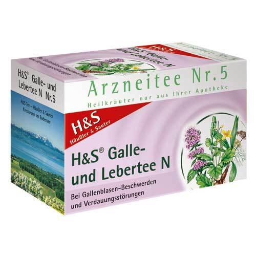 H&S Galle- und Lebertee N Filterbeutel - 2