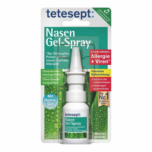 Tetesept Nasen Gel-Spray - 1