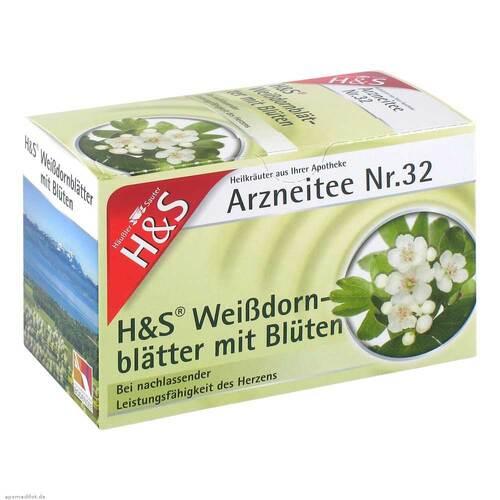 H&S Weißdornblätter mit Blüten Filterbeutel - 2