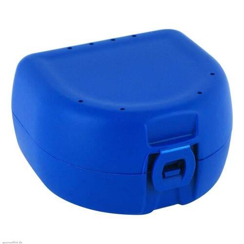 Prothesen Zahnspangenbox universal dunkelblau - 1