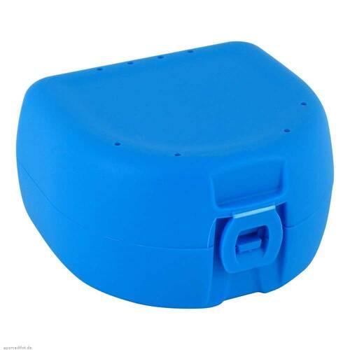 Prothesen Zahnspangenbox universal hellblau - 1