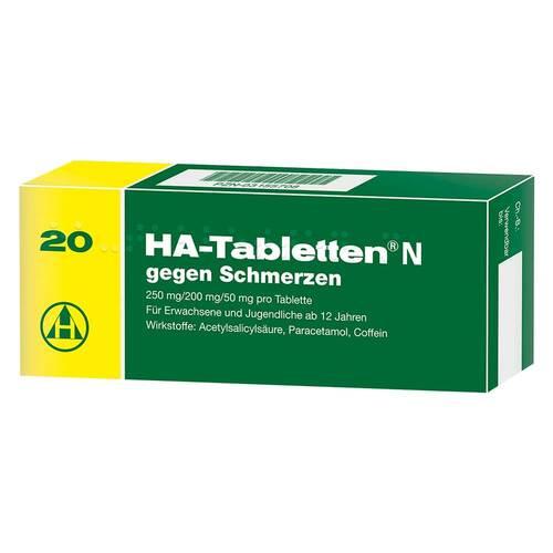 HA Tabletten N - 1