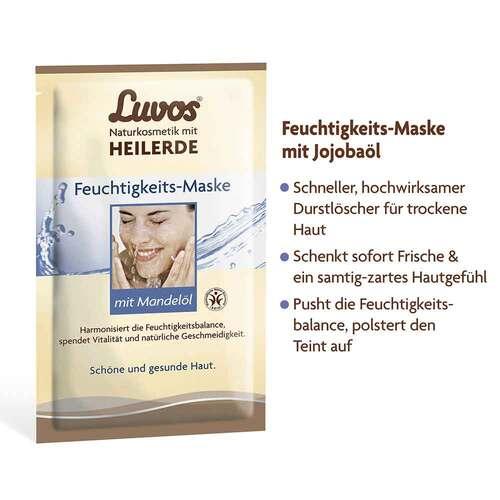 Luvos Crememaske Feuchtigkeit gebrauchsfert. - 3