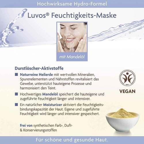 Luvos Crememaske Feuchtigkeit gebrauchsfert. - 4