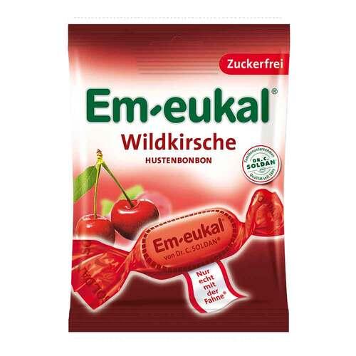 Em-eukal Hustenbonbons Wildkirsche zuckerfrei - 1