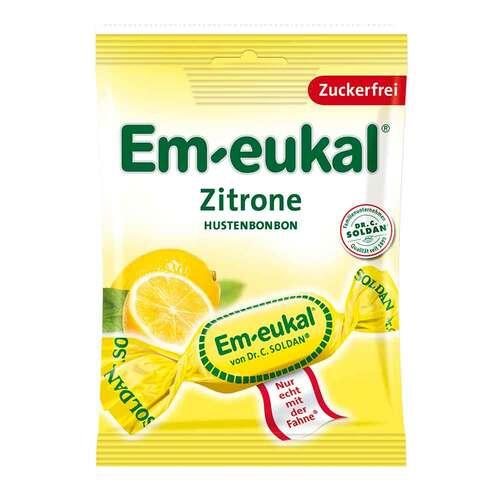 Em-eukal Hustenbonbons Zitrone zuckerfrei - 1