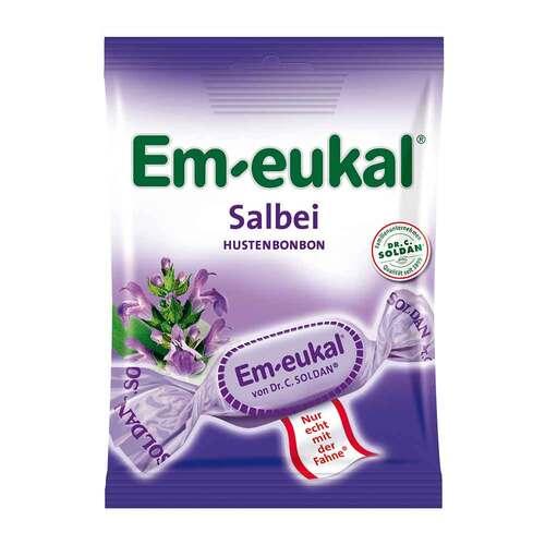 Em-eukal Halsbonbons Salbei zuckerhaltig - 1