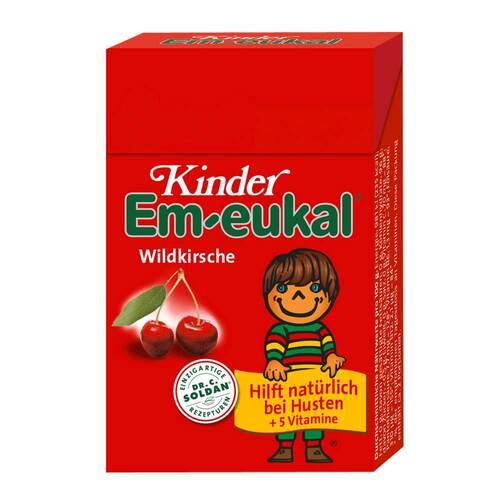 Kinder Em-eukal Hustenbonbons Wildkirsche zuckerhaltig Pocketbox - 1