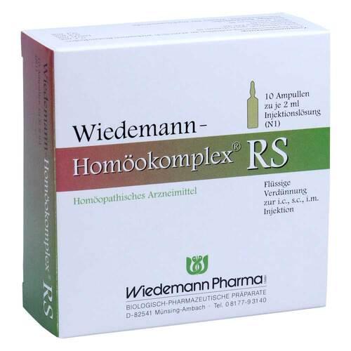 Wiedemann Homöokomplex RS Ampullen - 1