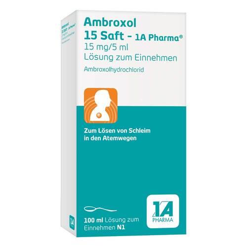 Ambroxol 15 Saft 1A Pharma - 1