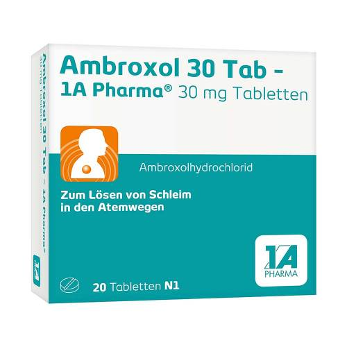 Ambroxol 30 Tab 1A Pharma Tabletten - 1