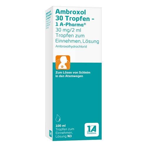 Ambroxol 30 Tropfen 1A Pharma - 1