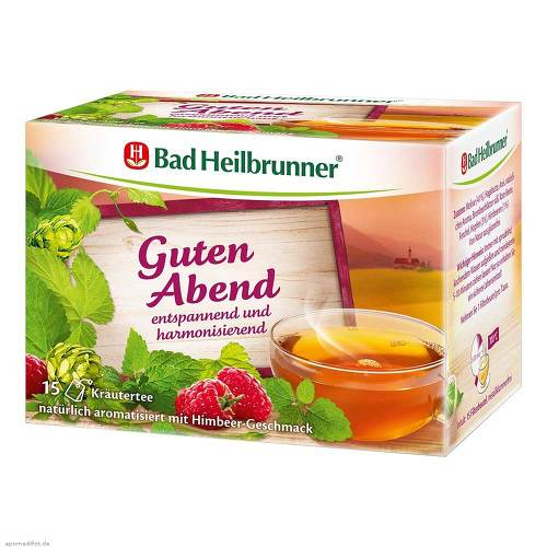Bad Heilbrunner Tee Guten Abend Kräuter Beutel - 1