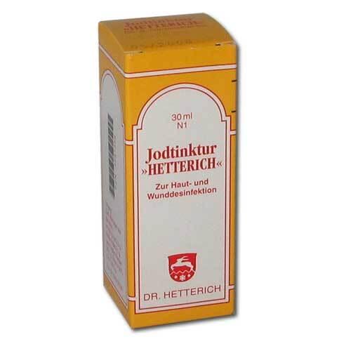 Jodtinktur Hetterich - 1