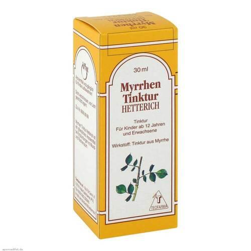Myrrhen Tinktur Hetterich - 1